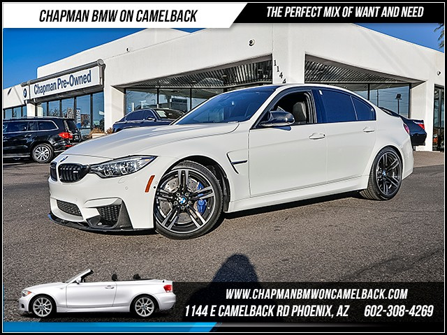 2016 BMW M3 7341 miles Executive Package Lighting Package Driver Assistance Plus Satellite com