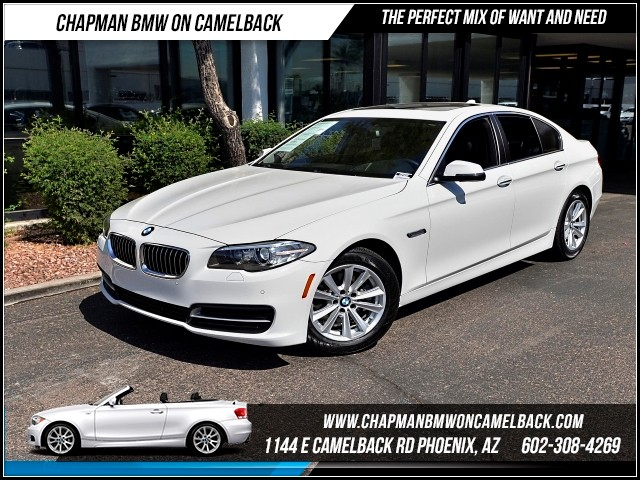 2014 BMW 5-Series 528i Driver Assist Pkg Nav 27139 miles 1144 E Camelback Rd 6023852286Why
