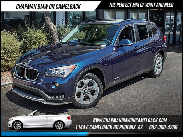 2015 BMW X1 sDrive28i 14480 miles Wireless data link Bluetooth Phone hands free Satellite commu