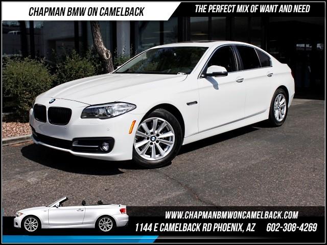 2015 BMW 5-Series 528i Driver Assist Pkg Nav 15195 miles 1144 E Camelback Rd 6023852286Dri