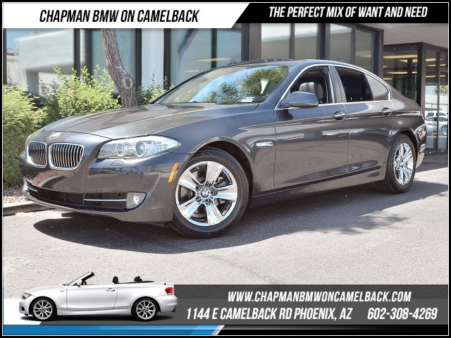 2012 BMW 5-Series 528i 34026 miles Premium Package Heated front seats Satellite communications