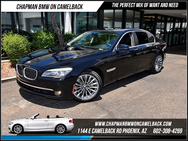 2012 BMW 7-Series 740i 39308 miles Convenience Package 19 Alloy Radial-spoke wheels Multi-cont