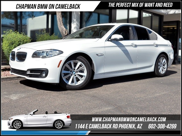 2015 BMW 5-Series 528i 9876 miles Wireless data link Bluetooth Satellite communications BMW Assi