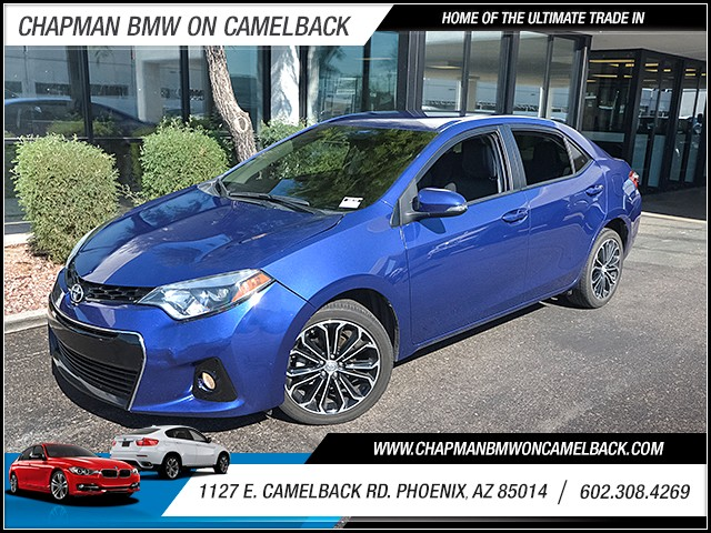 2014 Toyota Corolla S Plus 51715 miles 6023852286 1127 E Camelback Rd Chapman Value center