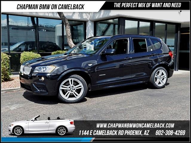 2014 BMW X3 xDrive35i M SportPrem Pkg 23441 miles 1144 E Camelback Rd 6023852286Chapman B