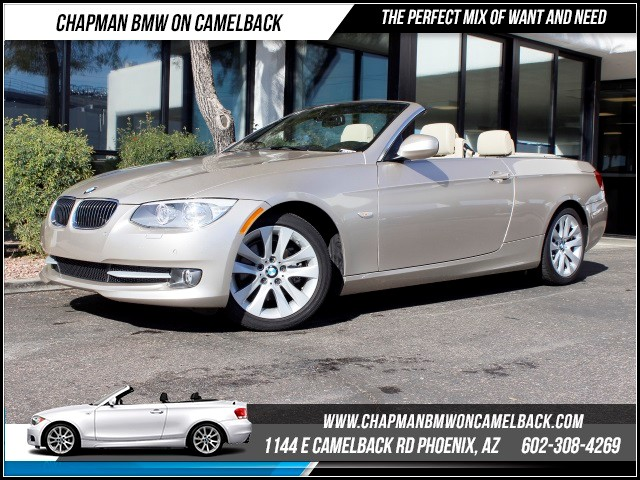 2013 BMW 3-Series Conv 328i 28789 miles Premium Package Convenience Package Wireless data link