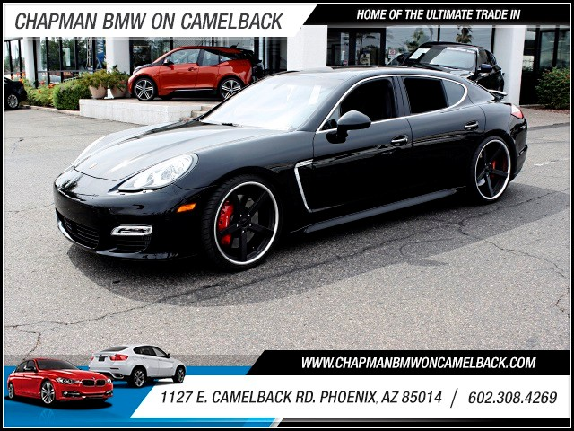 2011 Porsche Panamera Turbo 10369 miles 602 385-2286 1127 E Camelback HOME OF THE ULTIMATE T