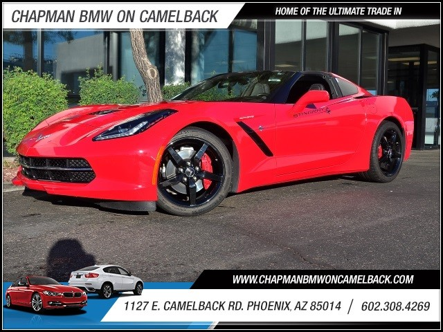 2015 Chevrolet Corvette Stingray 3409 miles Satellite communications voice guided directions Wif