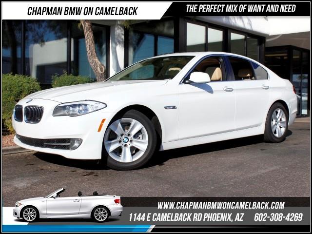 2013 BMW 5-Series 528i Prem Pkg 46095 miles 1144 E Camelback RdChapman BMW on Camelbacks Certif