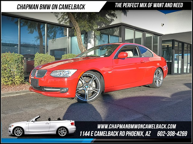 2012 BMW 3-Series Cpe 335i Prem Pkg 39740 miles Premium Package Phone pre-wired for phone Wirel