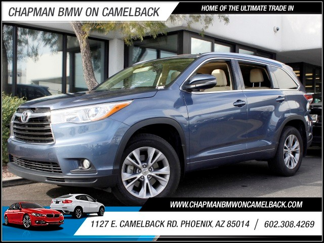 2015 Toyota Highlander XLE 27505 miles 602 385-2286 1127 E Camelback HOME OF THE ULTIMATE TR
