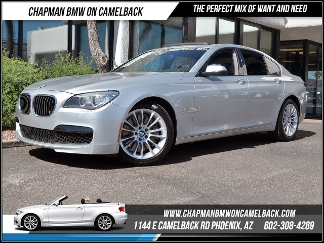 2013 BMW 7-Series 750i Mspt Pkg NavRear Camera 47297 miles 1144 E Camelback RdChapman BMW on C