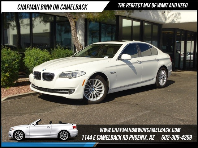 2013 BMW 5-Series 535i PremTechNav 34774 miles 1144 E Camelback RdChapman BMW on Camelbacks C