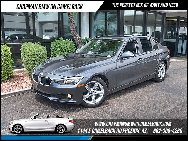 2014 BMW 3-Series Sdn 320i 24940 miles 1144 E Camelback Rd 6023852286 Certified Pre Owned