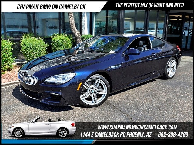2013 BMW 6-Series 650i M SportDriver AsstCold We 28054 miles 1144 E Camelback Rd 602385228