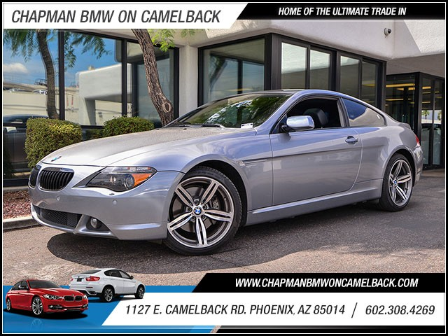 2005 BMW 6-Series 645Ci 67698 miles Sport Package Cold Weather Package Premium Sound Package S