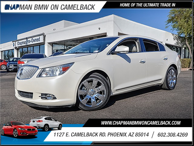 2011 Buick LaCrosse CXS 84442 miles Satellite communications OnStar Wireless data link Bluetooth