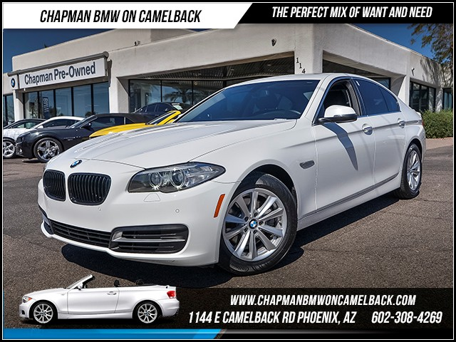 2014 BMW 5-Series 528i 47068 miles Rear view camera Heated front seats Satellite communications