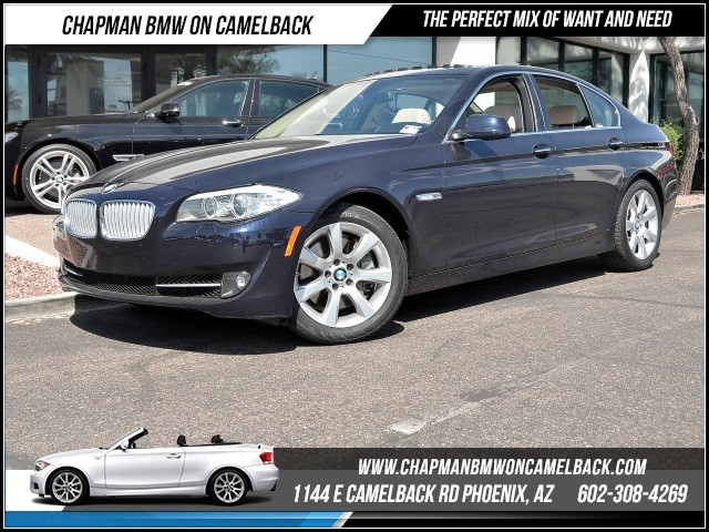 2013 BMW 5-Series 550i ExecCold Weather Pkg Nav 28824 miles 1144 E Camelback Rd 6023852286