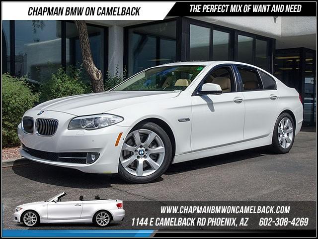 2011 BMW 5-Series 535i PremSport Pkg Nav 49249 miles 1144 E Camelback Rd 6023852286Drive