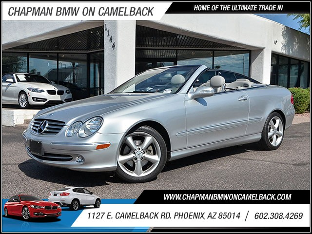 2005 Mercedes CLK CLK320 20686 miles 60238522861127 E Camelback Rd Chapman Value center on
