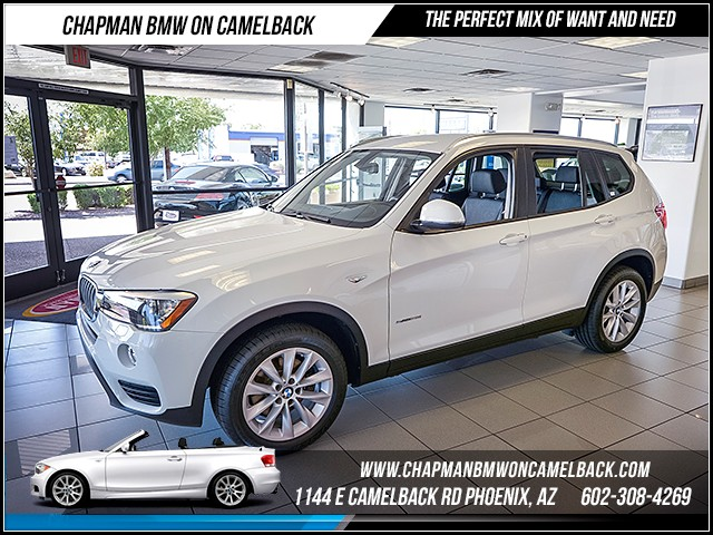 2015 BMW X3 sDrive28i 25979 miles 1144 E Camelback Rd 6023852286 Certified Pre Owned Fall