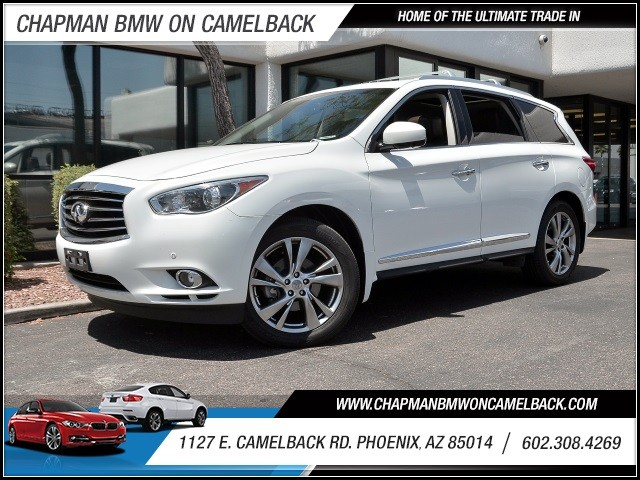 2013 Infiniti JX35 51645 miles 602 385-2286 1127 E Camelback HOME OF THE ULTIMATE TRADE IN