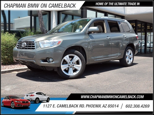 2010 Toyota Highlander Limited 84759 miles 602 385-2286 1127 E Camelback HOME OF THE ULTIMAT