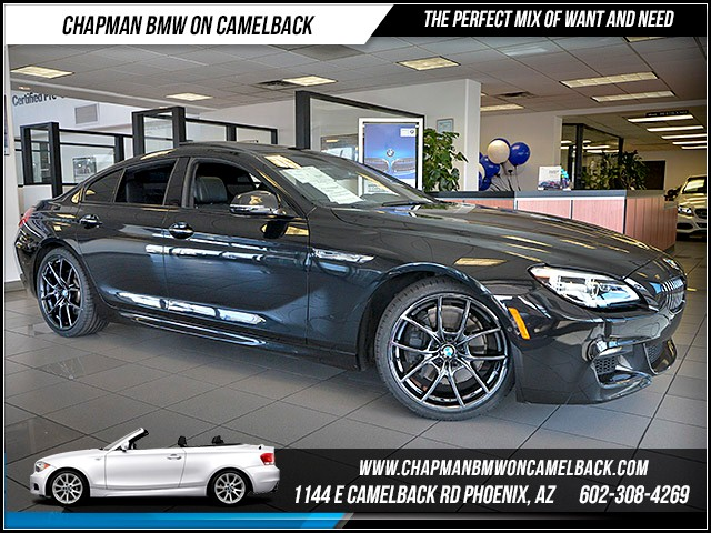 2016 BMW 6-Series 650i Gran Coupe 29580 miles 6023852286 12th St and Camelback Chapman BMW