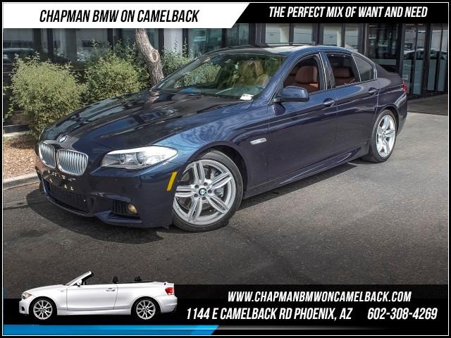 2013 BMW 5-Series 550i PremMsptDrievr Assit Plus 26158 miles 1144 E Camelback Rd 602385228