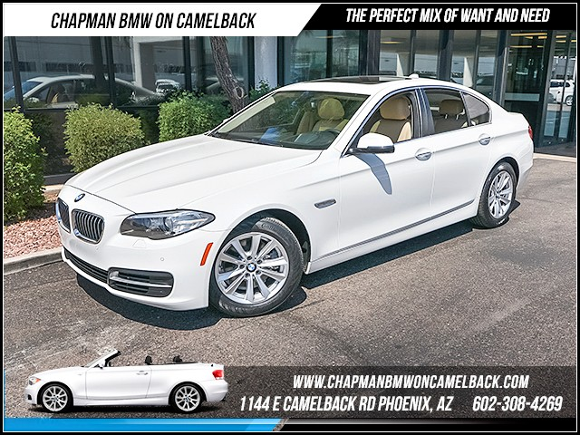 2014 BMW 5-Series 528i 29221 miles 1144 E Camelback Rd 6023852286 Certified Pre Owned Fall