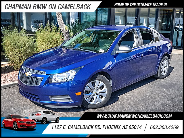 2012 Chevrolet Cruze LS 41851 miles Satellite communications OnStar Anti-theft system alarm Po