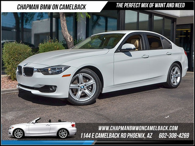 2014 BMW 3-Series Sdn 320i 24113 miles 1144 E Camelback Rd 6023852286 Certified Pre Owned