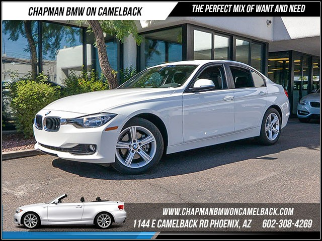 2015 BMW 3-Series Sdn 320i xDrive 12029 miles Satellite communications BMW Assist Wireless data