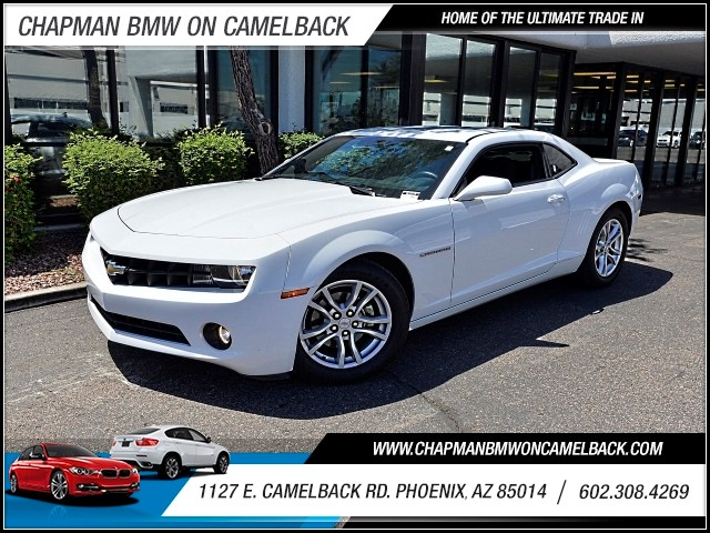 2013 Chevrolet Camaro LT 42057 miles 602 385-2286 1127 E Camelback HOME OF THE ULTIMATE TRAD