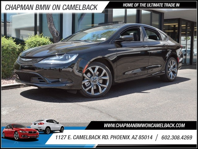 2015 Chrysler 200 S 14354 miles 602 385-2286 1127 E Camelback HOME OF THE ULTIMATE TRADE IN