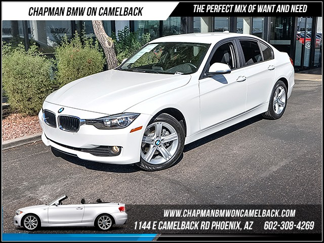 2015 BMW 3-Series Sdn 320i xDrive 15723 miles Satellite communications BMW Assist Wireless data