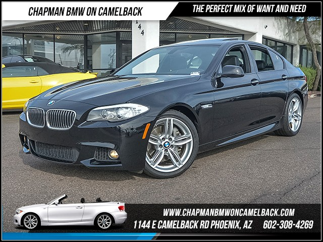 2013 BMW 5-Series 535i 39572 miles M Sport Package Premium Package Technology Package Heated f