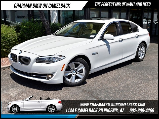 2013 BMW 5-Series 528i Premium Pkg 27822 miles Premium Package Satellite com