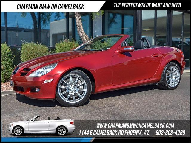 2005 Mercedes SLK-Class SLK350 37259 miles 6023852286 1127 E Camelback Rd Chapman Value cen