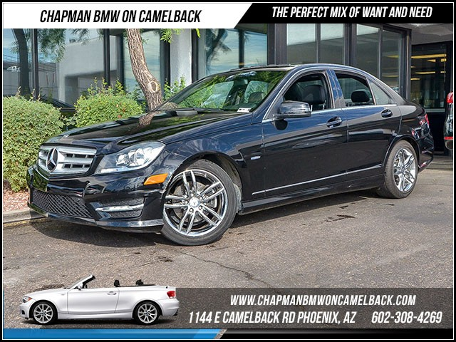 2012 Mercedes C-Class C250 Luxury 57872 miles Wireless data link Bluetooth Cruise control Parki