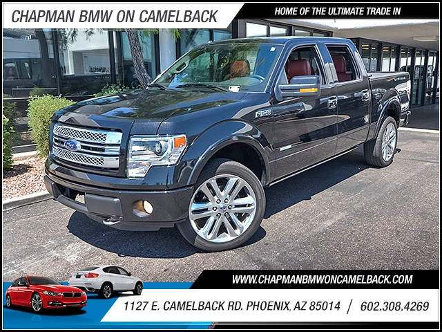 2013 Ford F-150 Limited Crew Cab 25563 miles 6023852286 1127 E Camelback Rd Chapman Value c