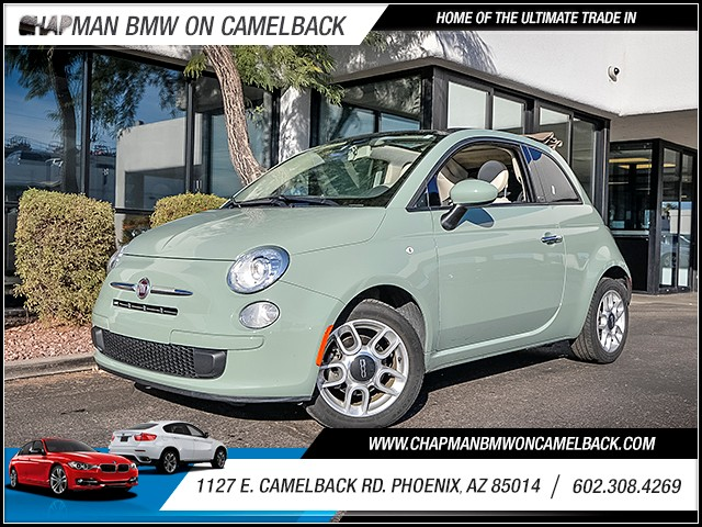 2012 FIAT 500c Pop 22636 miles Cruise control Parking sensors rear Anti-theft system engine im