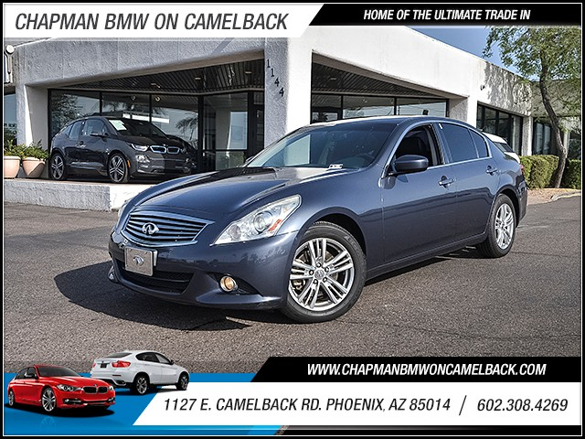 2013 INFINITI G37 Sedan x 89564 miles Wireless data link Bluetooth Cruise control Anti-theft sy