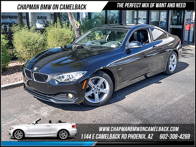 2014 BMW 4-Series 428i 34946 miles Certified Year End Sales Event Exclusively at 1144 E Camelbac