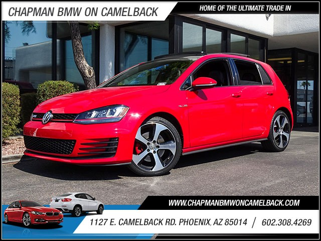 2015 Volkswagen Golf GTI Autobahn 23358 miles Wireless data link Bluetooth Cruise control Navig