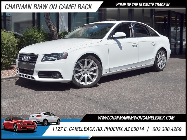 2011 Audi A4 20T quattro Prem Plus 52890 miles 602 385-2286 1127 E Camelback HOME OF THE UL