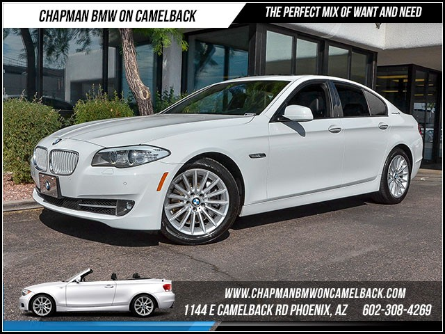 2013 BMW 5-Series ActiveHybrid 5 45810 miles 1144 E Camelback Rd 6023852286 Certified Pre