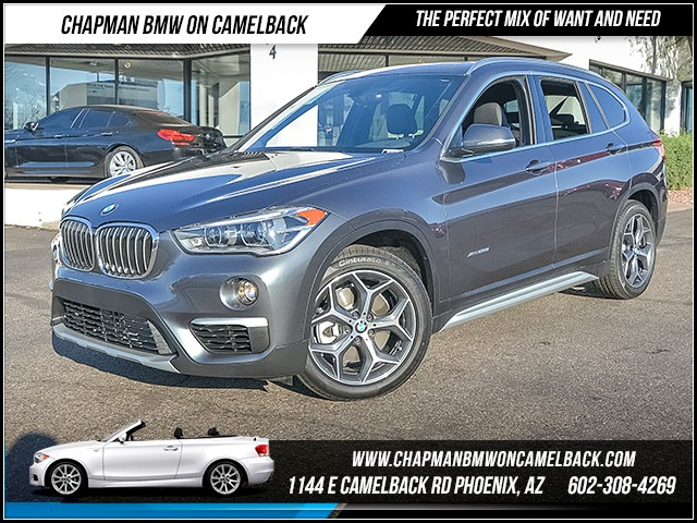 2016 BMW X1 xDrive28i 6625 miles X-Line Premium Package Cold Weather Package Wireless data lin