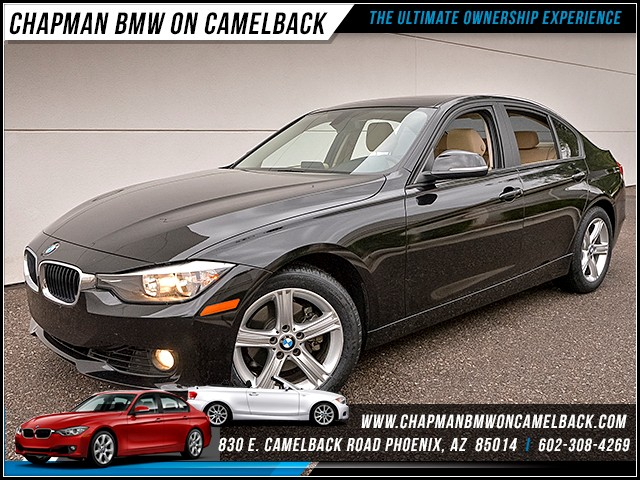 2014 BMW 3-Series Sdn 328i 56983 miles Premium Package Phone hands free Satellite communication